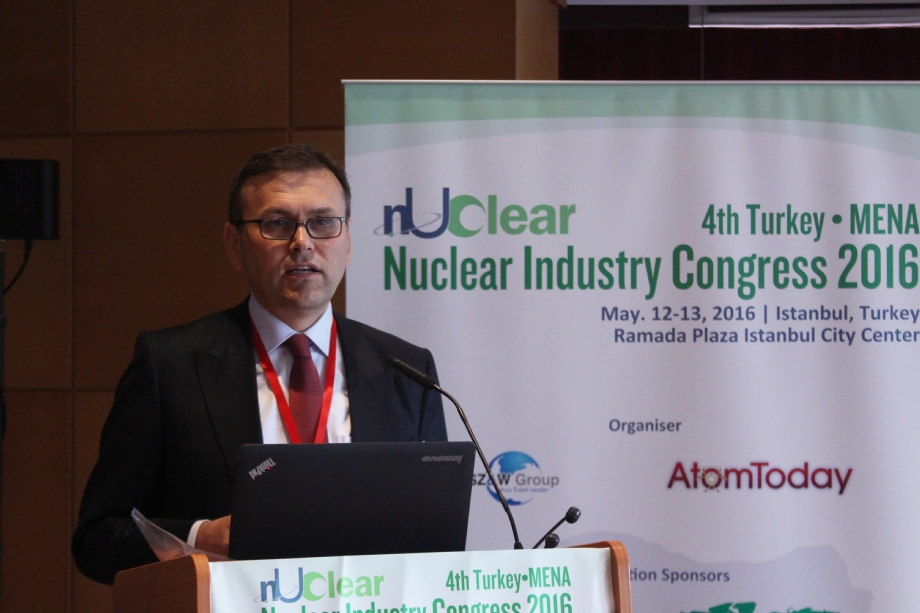 May 13, 2016 - Att. Dr. Ramazan Arıtürk Speaks At Nuclear Industry Conference - NEWS - Elmadag Law Office