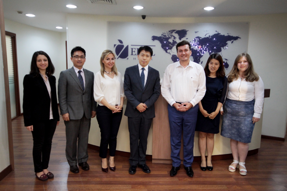June 17, 2016 - Representative of Korean Andrew,Corporation Have Visited About PPP. - NEWS - Elmadag Law Office